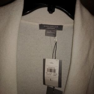 New cashmere Ann Taylor sweater